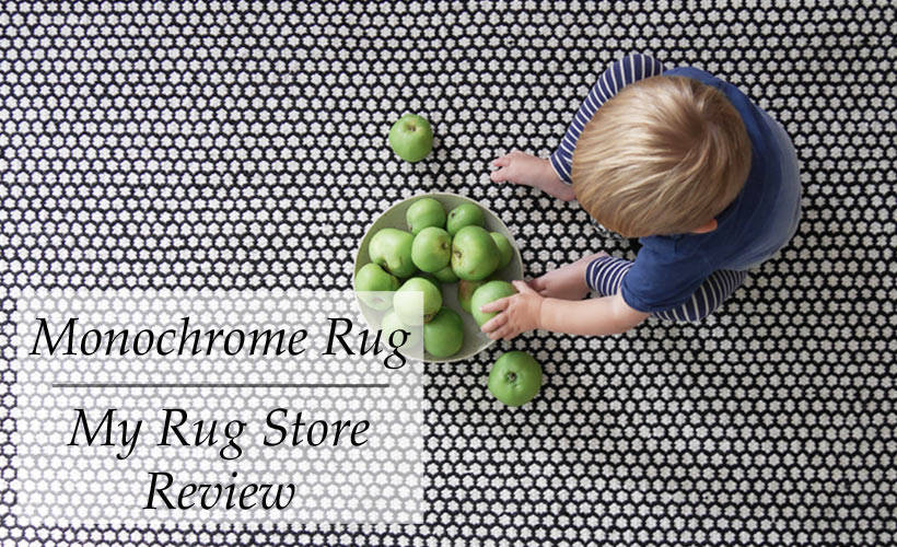 Monochrome Rug | My Rugstore Review