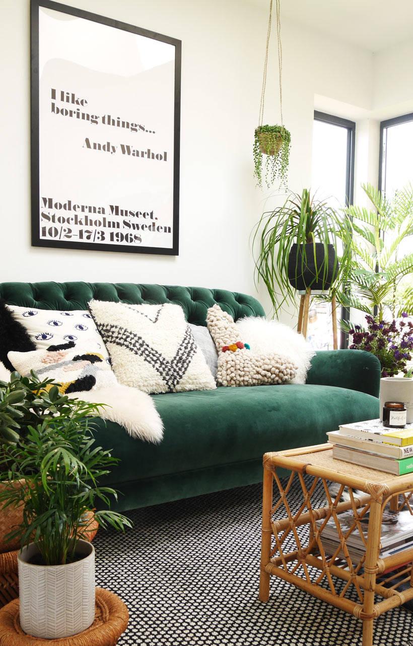 Chesterfield Maison Du Monde green velvet sofa of dreams | my dfs velvet chesterfield